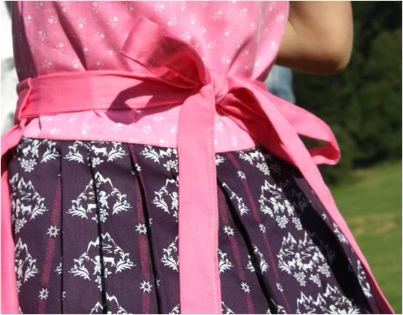 lauraundben almvolk tracht schürze dirndl stoffpaket stoff paket rock schürze kleid lauraundben