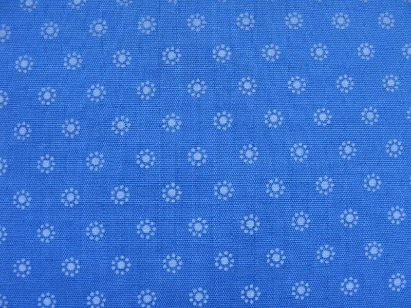 Bild 1 von Dirndl fabric small flowers - light blue - 50 cm