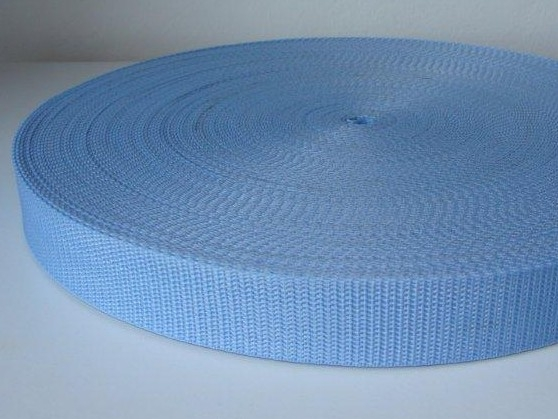 Bild 1 von belt strap - 25 mm - light blue
