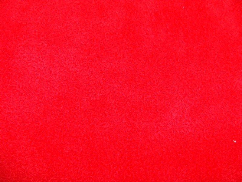 Bild 1 von Fleece fabric - red - 50 cm