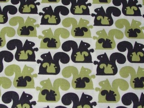 Bild 1 von squirrel cotton fabric - 50 cm