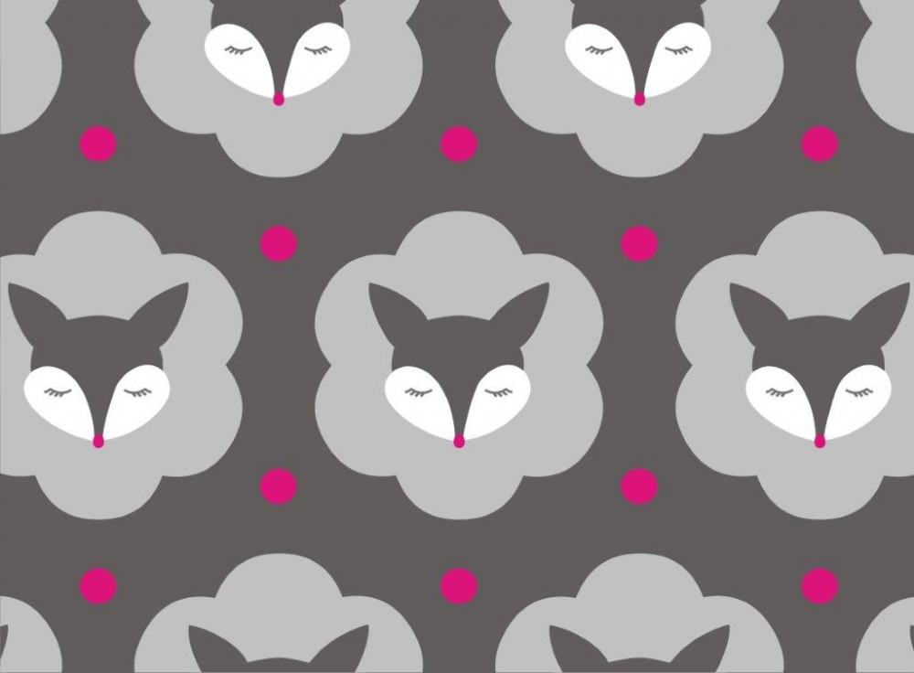 Bild 1 von organic cotton stretchjersey fabric MRS FOX grey - 50 cm