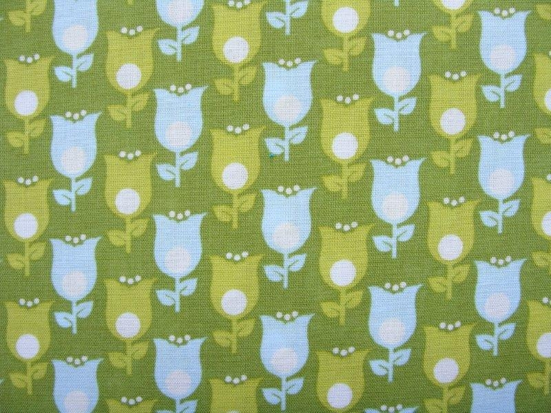 Bild 1 von flower ornaments cotton fabric - 50 cm