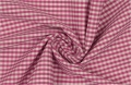 vichy checked cotton fabric - 3mm - pink - 50 cm