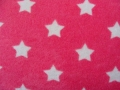 terry cloth stars pink