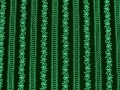Dirndl fabric stripes - dark green - 50 cm