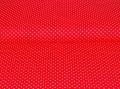 cotton fabric minidots red 50 cm