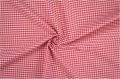 vichy checked cotton fabric - 3mm - red - 50 cm