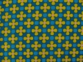 flower cotton fabric - 50 cm