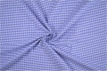 vichy checked cotton fabric - 3mm - blue - 50 cm