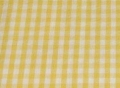 Bild 2 von vichy checked cotton fabric - 5mm - yellow - 50 cm