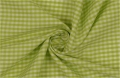 vichy checked cotton fabric - 3mm - light green - 50 cm