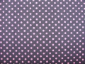 stretchjersey dots - grey rose - 50 cm