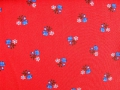 dirndl cotton fabric flowers - 50 cm