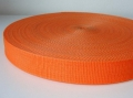belt strap - 25 mm - orange