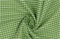 vichy checked cotton fabric - 3mm - gras green - 50 cm