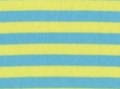 stretchjersey - Campante stripes - lime/turquois - 50 cm