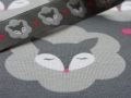 Bild 2 von organic cotton stretchjersey fabric MRS FOX grey - 50 cm