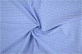 vichy checked cotton fabric - 3mm - light blue - 50 cm