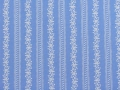 Dirndl fabric stripes - light blue - 50 cm