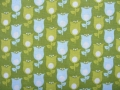 flower ornaments cotton fabric - 50 cm