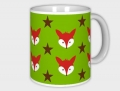 cup Mister FOX green