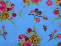 Bild 2 von birds and flower cotton fabric - 50 cm