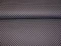 cotton fabric minidots black 50 cm